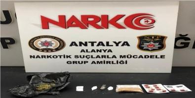 Alanya'da Polisten Uyusturucu Baskini Açiklamasi 3 Gözalti