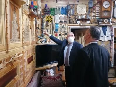 Baskan Pekmezci'den Evini Müzeye Dönüstüren Keles'e Ziyaret