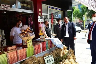 Baskan Vidinlioglu, Esnafin Ve Halkin Sorunlarini Dinledi