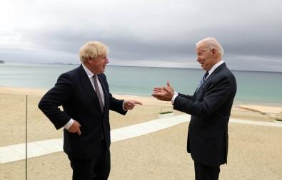 Biden Ve Johnson'dan G7 Öncesi Yüz Yüze Görüsme