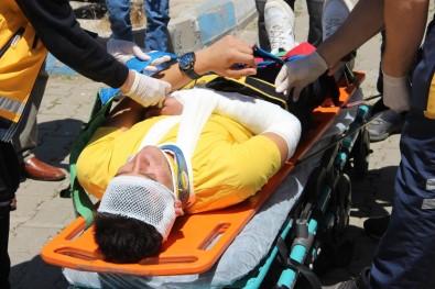 Bingöl'deki Deprem Ve Yangin  Tatbikati Gerçegi Aratmadi