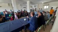 ÜST GEÇİT - Bismil Kaymakami Türkmen'e, Köseli Mahalle Ziyaretinde Büyük Ilgi