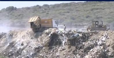 Çeşme Belediyesi sit alanını çöplüğe çevirdi! Canlı yayında inanılmaz görüntü