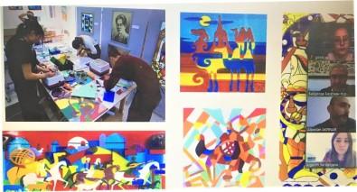 EBYÜ Ile Jurgenov Kazak Ulusal Sanat Akademisi Arasinda Isbirligi Protokolü