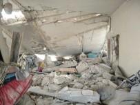 SİVİL SAVUNMA - Esad Rejiminden Idlib Kirsalina Karadan Ve Havadan Saldiri Açiklamasi 7 Ölü