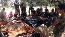 SİVİL SAVUNMA - Esed Rejiminin Idlib Kirsalindaki Saldirisinda 6 Sivil Öldü