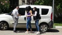 ELEKTRONİK KELEPÇE - Evinde Uyusturucu Ele Geçen Kadina Elektronik Kelepçeli Ev Hapsi