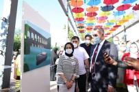 SULTANGAZİ BELEDİYESİ - Gelecegin Sanatçilari Sultansehir Resim Sergisi'nde Hünerlerini Sergiledi