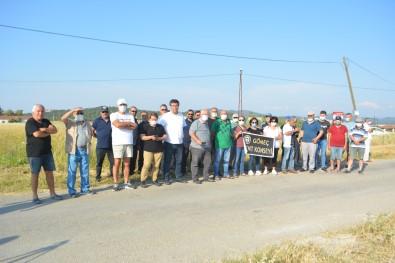 Gömeç'te Hazine Arazisinin Satis Kararina Bölge Halki Tepki Gösterdi