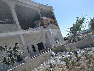 İdlib'e havadan ve karadan alçak saldırı!