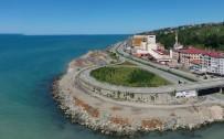 KEMAL ÇEBER - Iyidere Lojistik Merkezi Için Deniz Dolgusu Basladi