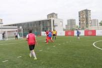 GÖRME ENGELLİLER - Kabakci. Görme Engelliler Futbol Milli Takiminin Antrenmanini Izledi