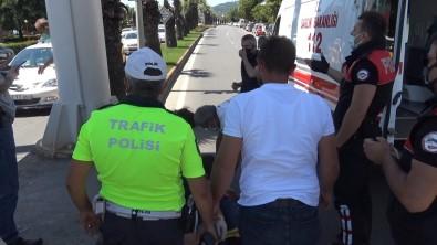 Kalabaligi Uzaklastirmaya Çalisan Polise 'Sen Ne Yapacaksin' Diyerek Karsi Çikti