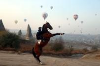 GÖREME - Kapadokya'yi Mayis Ayinda 61 Bin 634 Turist Ziyaret Etti