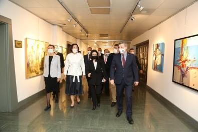Kirgizistan Cumhurbaskani Caparov'un Esinden Gazi Üniversitesi'ne Ziyaret