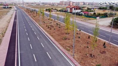 Konya'da 14,5 Kilometrelik Sultan Abdülhamid Han Caddesi'nin Ilk Etabi Tamamlandi