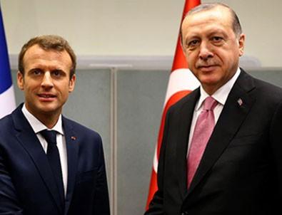 Başkan Erdoğan, Macron ile görüşecek!