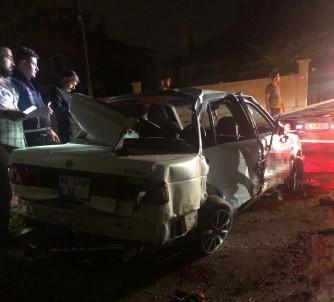 Otomobil Direge Çarpti Açiklamasi 2 Çocuk Öldü, 3 Çocuk Yaralandi