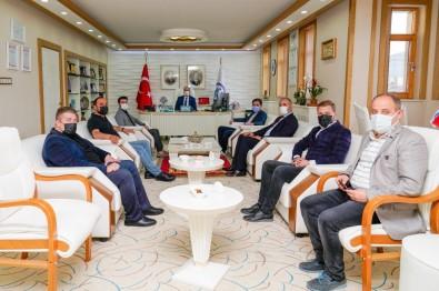Rektör Türkmen'e Hayirli Olsun Ziyaretleri Devam Ediyor