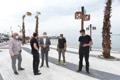 Sahile Süleymanpasa Belediyesi Dokunusu
