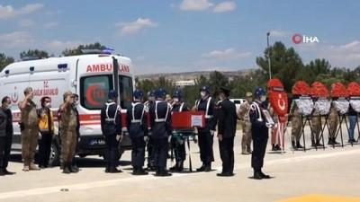 Siirt'te PKK'li Teröristlerin Saldirisi Sonucu Sehit Olan Güvenlik Korucusu Son Yolculuguna Ugurlandi