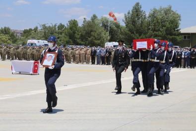 Siirt'te Sehit Güvenlik Korucusu Için Tören Düzenlendi