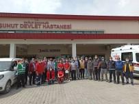 SİVİL SAVUNMA - Suhut Devlet Hastanesi'nde Yangin Tatbikati