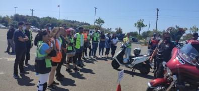 Türkiye'de Ilk 'Motosiklet Güvenli Sürüs Egitimi' Projesi Alanya'da Basladi