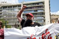 GREV - Yunanistan'da Yeni Çalisma Yasasina Karsi Genel Grev