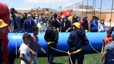 Yunus Emre Enstitüsünden Suriye'nin Azez Ilçesinde 'Gençlik Ve Uçurtma Festivali'