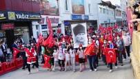 METIN ÇELIK - 95 Kilometrelik Atatürk Ve Istiklal Yolu Yürüyüsü Son Buldu