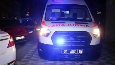 Adana'da Silahli Saldiriya Ugrayan Kisi Yaralandi