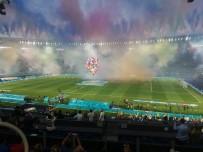 KENDİ KALESİNE - Avrupa Sampiyonasi Ilk Kez Kendi Kalesine Atilan Bir Golle Basladi