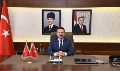 Aydin Valisi Aksoy'un Jandarma Teskilati'nin 182. Kurulus Yildönümü Mesaji