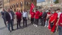 GURBETÇI - Bakan Kasapoglu, Italya'da Taraftarlarla Milli Maç Heyecanini Yasadi