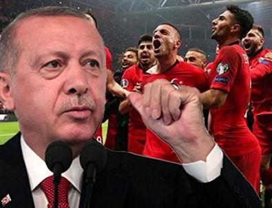 Başkan Erdoğan'dan Euro 2020 mesajı!