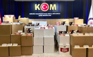 Baskent'te 1 Milyon 41 Bin 120 Adet Makaron Ele Geçirildi