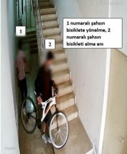 Bisiklet Hirsizlari Güvenlik Kameralarindan Kaçamadi
