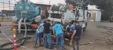 Büyüksehir Belediyesi Ve MASKI, Akçapinar'a Aninda Müdahale Etti