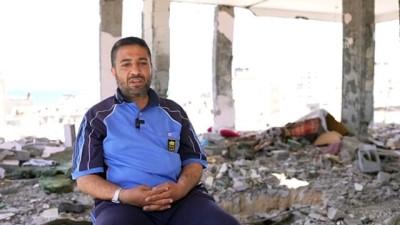 Dügününe Günler Kala Israil Saldirisinin Hedefi Olan Gazzeli Hedil, Hayalini Kurdugu Gelinligi Giyemedi