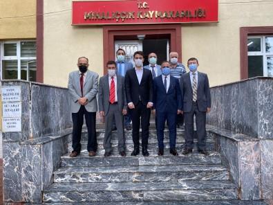 Eskisehir Kizilelma Turan Dernegi'nden Mihaliççik'a Anlamli Ziyaretler