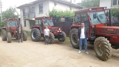 Hisarcik'ta ORKÖY Destegiyle 6 Orman Köylüsü Traktörlerine Kavustu