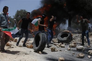 Israil Güçlerinden Nablus'ta Filistinlilere Müdahale Açiklamasi 1 Ölü, 6 Yarali