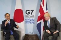 DÜNYA EKONOMİSİ - Japonya Basbakani Suga Ile Johnson'dan G7 Görüsmesi