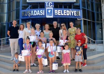 Kusadasi Belediyesi Minik Jimnastikçileri Agirladi