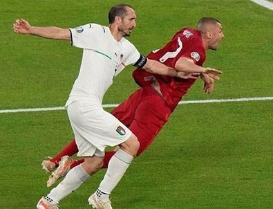İşte Millilerimizin penaltı beklediği pozisyon!