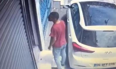 (ÖZEL)-Zeytinburnu'nda Sogukkanli Hirsiz Kamerada