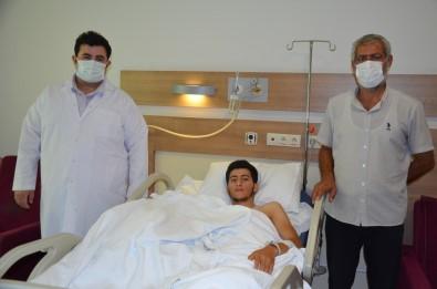 Parçalanan El, Sanliurfa'da Ameliyatla Dikildi