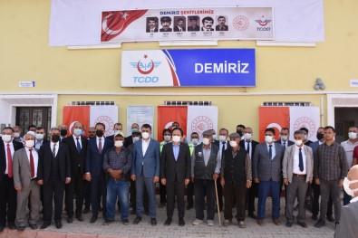 Terör Örgütü PKK'nin Sehit Ettigi 6 TCDD Personeli Ile 2 Sivil Vatandas Anildi