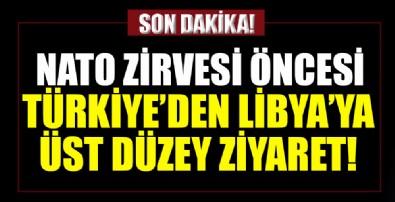 Türkiye'den Libya'ya üst düzey ziyaret!